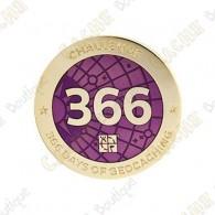 """Geocoin """"Challenge"""" - 366 days"""