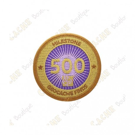 "Patch  ""Milestone"" - 500 Finds"