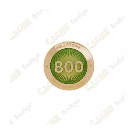 """Pin's """"Milestone"""" - 800 Finds"""