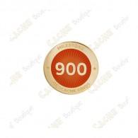 """Pin's """"Milestone"""" - 900 Finds"""