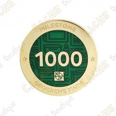 "Geocoin ""Milestone"" - 1000 Finds"