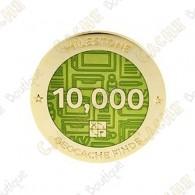 "Geocoin ""Milestone"" - 10 000 Finds"