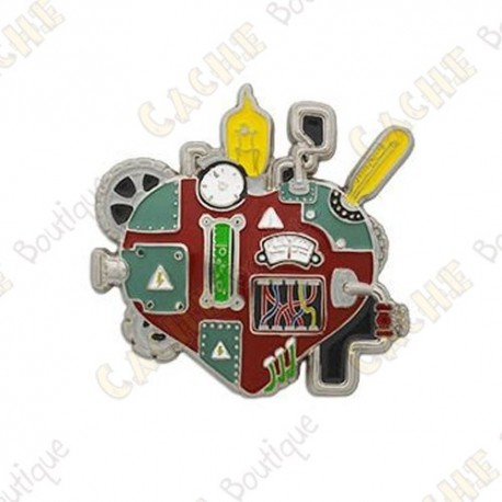 "Geocoin ""Mechanical Heart"""
