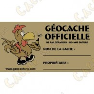 100% French cache sticker