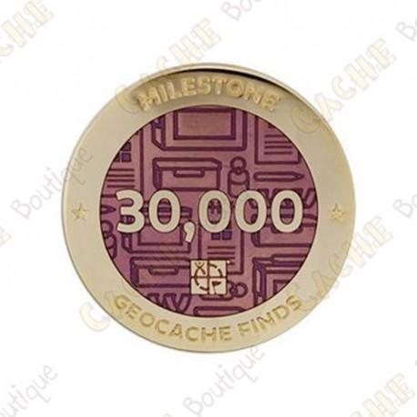 "Geocoin ""Milestone"" - 30 000 Finds"