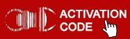 Codes d'activation