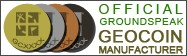 Official GroundSpeak GEOCOIN Manufacturer